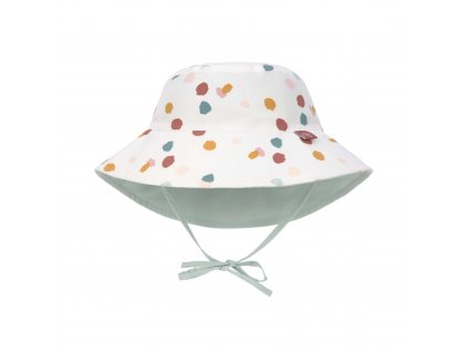LÄSSIG Sun Protection Bucket Hat Spotted White