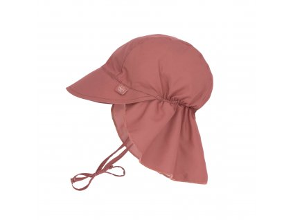 LÄSSIG Sun Protection Flap Hat Rosewood
