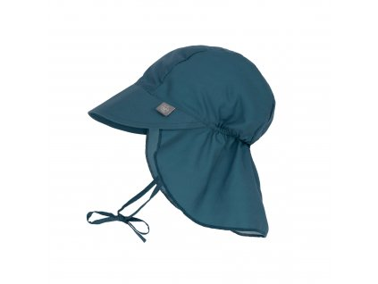 LÄSSIG Sun Protection Flap Hat Navy
