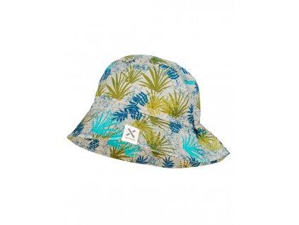 Dětský bavlněný klobouček Maximo listy