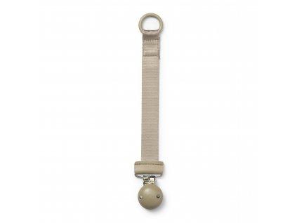 wood pacifier clip pure khaki