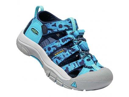 keen kids newport h2 15a ken 1009938 vivid blue katydid 1
