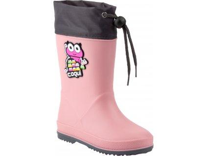 8508 100 6225 RAINY COLLAR Powder Pink,Dk Grey 002