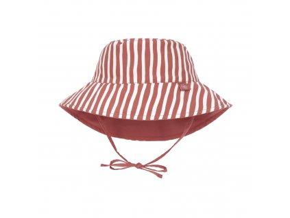 LÄSSIG Sun Protection Bucket Hat Stripes Red