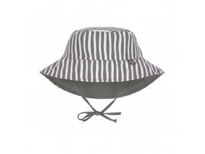 LÄSSIG Sun Protection Bucket Hat Stripes Olive