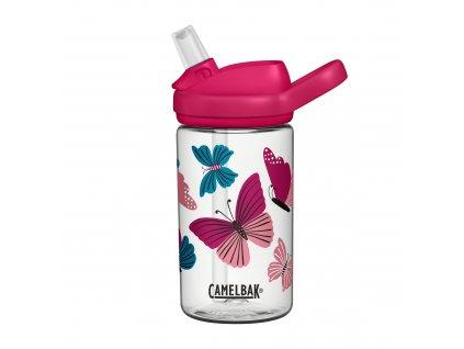 2282102040 Eddy+ Kids 400 ml Colorblock Butterflies