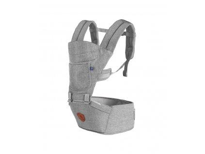 EcoViking Baby Carrier Grey Melange