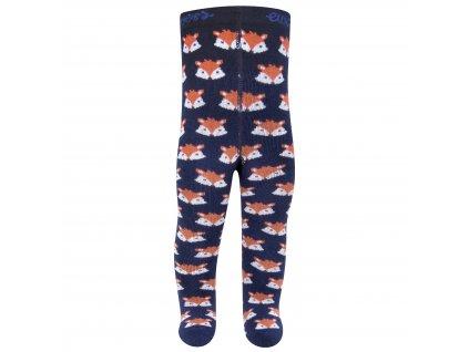 Dětské zateplené punčocháče Ewers modré lišky