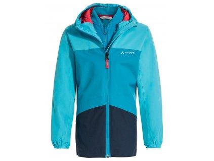 Dětská outdoorová bunda Vaude Escape 3v1 Arctic blue