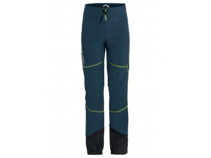 Dětské zimní softshellové kalhoty Vaude Capacida Dark sea/green