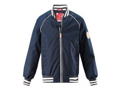Kvalitní dětská nepromokavá bunda v urban stylu Reima Aarre - Navy v tmavě modré barvě