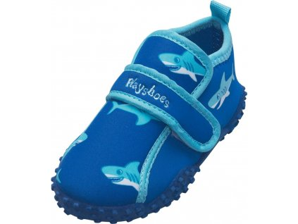 Kvalitní dětské lehké a prodyšné boty do vody Playshoes Žralok