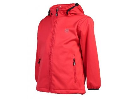 Color Kids Ralado softshell Racing red