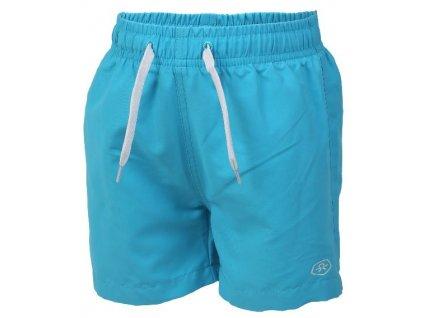 Kvalitní chlapecké rychleschnoucí šortkové plavky s UV ochranou Color Kids Bungo - Atomic blue