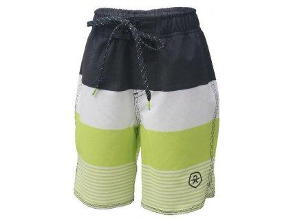 Kvalitní chlapecké rychleschnoucí šortkové plavky s UV ochranou Nelta - Phantom