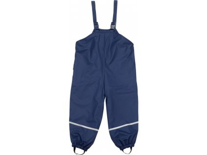 Kvalitní dětské nepromokavé kalhoty do deště s laclem Playshoes v modré barvě