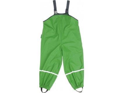 Kalhoty do deště s laclem Playshoes /zelené/