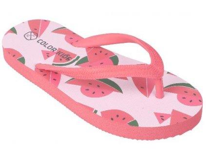 Dětské žabky Color Kids Nemo - Diva pink