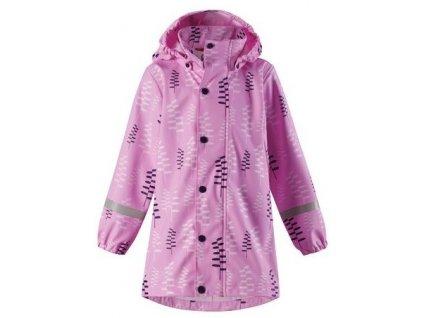 Dětský kabát do deště Reima Vatten - Candy pink