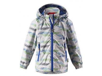Dětská membránová bunda Reima Zigzag - Light grey