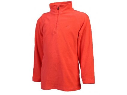 Color Kids Sandberg fleece pulli Fiery coral