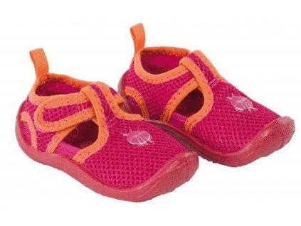 Kvalitní dětské lehké a prodyšné boty do vody Lassiq Beach Sandals Kids - Berry