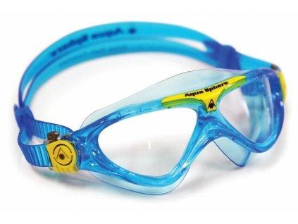 Plavecké brýle Aqua Sphere Junior Vista tyrkysové / čirý zorník