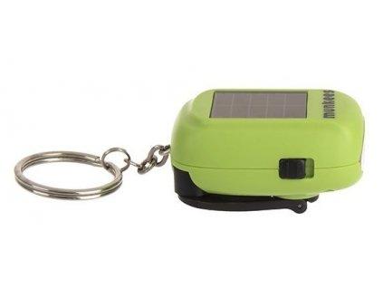 Přívěsek Munkees mini solární / dynamo svítilna