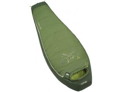 Kvalitní dětský hřejivý, přirozeně hypoalergenní a rychleschnoucí spacák Boll Stellar Eucalyptus / Forestgreen v tmavě zelené barvě