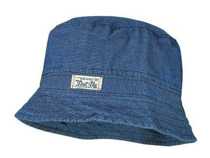 Kvalitní dětský džínový klobouček Maximo v modré barvě