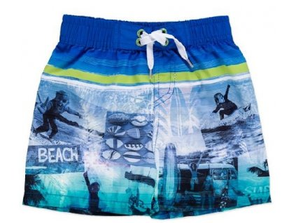 Chlapecké plavky Losan Beach modré