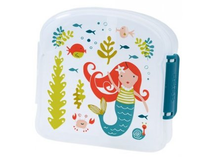 Sugarbooger Good Lunch sandwich box - Isla the Mermaid