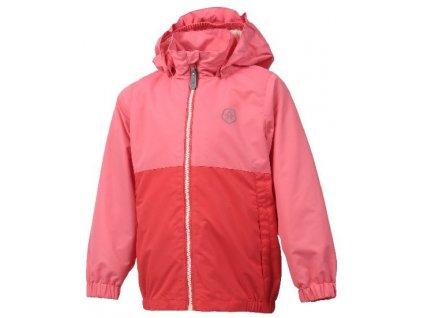 Dětská outdoorová bunda Color Kids Thy - Coral red