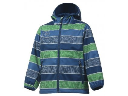 Softshellová bunda Color Kids Tadimir - Jeans blue