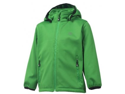 Softshellová bunda Color Kids Ralado - Online green