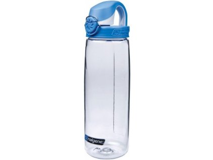 Nalgene dětská láhev OTF 650 ml čirá - modré víčko