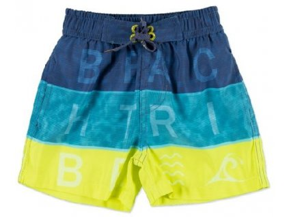 Chlapecké plavky Losan modro-žluté