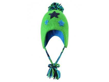 Zimní vlněná čepice Reima Celebrai zelená