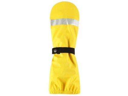 Dětské palčáky do deště jsou vyrobeny z praktického materiálu bez PVC