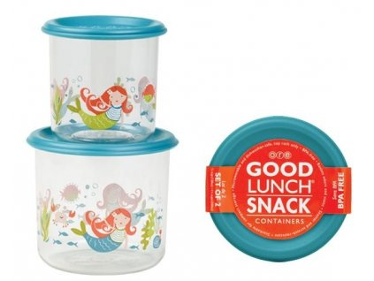 Sugarbooger Good Lunch snack containers  - Isla the Mermaid