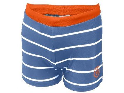 Kvalitní chlapecké rychleschnoucí šortkové plavky s UV ochranou Color Kids Norwich - Jeans blue