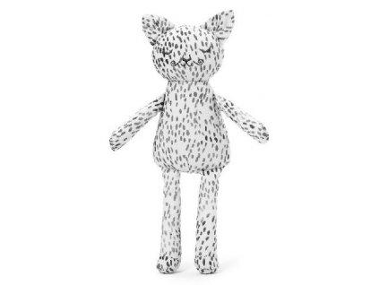 Kvalitní látková dětská hračka kočička Elodie Details - Dots of Fauna Kitty