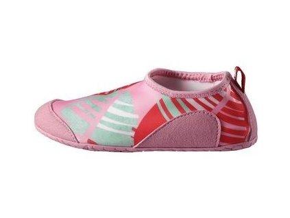 Kvalitní dětské rychleschnoucí boty do vody s UV ochranou Reima Twister - Candy pink v růžové barvě