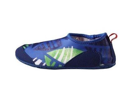 Kvalitní dětské rychleschnoucí boty do vody s UV ochranou Reima Twister - Blue v modré barvě