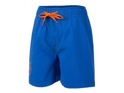Kvalitní chlapecké rychleschnoucí šortkové plavky s UV ochranou Bungo Color Kids modré