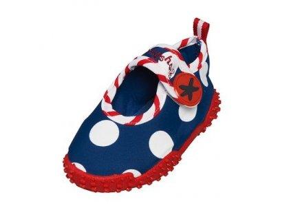 Kvalitní dětské lehké a prodyšné boty do vody Playshoes Moře