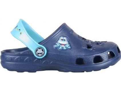 Dětské sandály Coqui Little Frog Navy/Blue