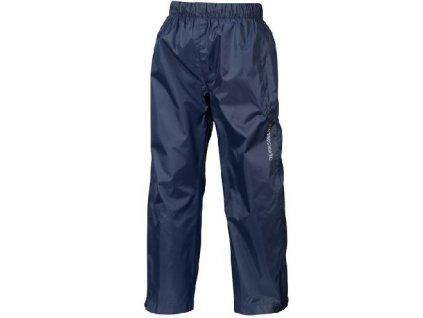 Kvalitní dětské funkční kalhoty pro volný čas Didriksons Wylie v tmavě modré barvě