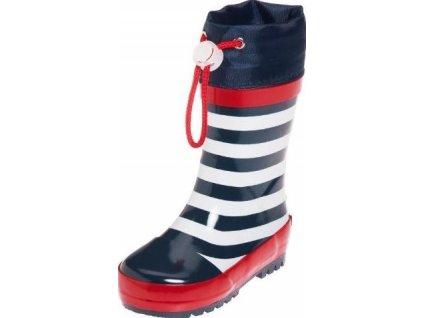 Gumáky Playshoes námořnické