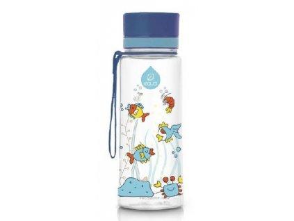 Kvalitní dětská plastová láhev vyrobena ze zdravotně nezávadného materiálu a bez BPA EQUA Equarium 0,6 l